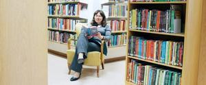Birgitta Juthstrand Sandell tror att böcker gör en till en bättre människa.