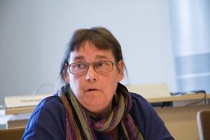 Karin Jansson (MP) lyfter fram satsningarna på fossilfri kollektivtrafik.
