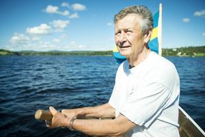Styrman Gustav Eriksson från Dellarnas kyrkbåtsroddare.