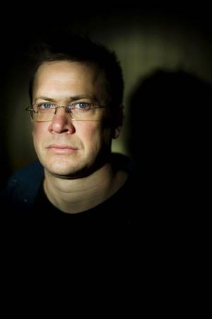 Författaren Ola Nilsson, Länstidningens kulturpristagare 2012.