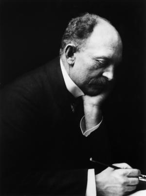 Emil Nolde på en bild från cirka 1909.   Foto: Nolde Stiftung Seebüll