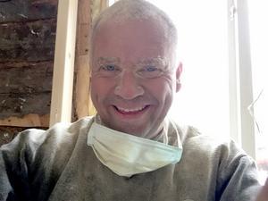 En selfie av Fredrik.