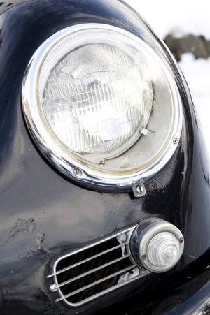 """De runda formerna, inspirerade av Volkswagen """"Bubblans"""" former."""