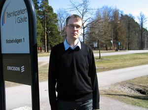 Moderaten Patrik Stenvard är betydligt yngre än sina politikerkollegor i landstinget.