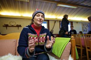 Trots tuff ekonomi och mycket arbete kämpar Kersti Edenheim vidare med att utveckla slalombacken.
