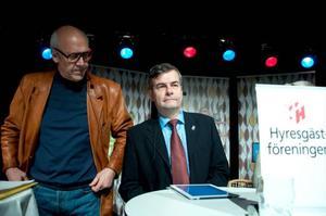 Tord Andnor, ordförande i Östersundshem, har anlitat Fastighetsägarna som förhandlingspartner om hyrorna, ett val som Hyresgästföreningen anser är mycket märkligt.