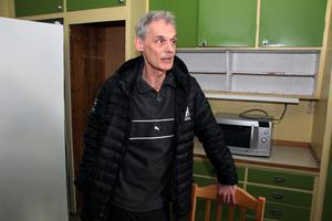 """Krister Andersson, föreståndare för härbärget Vinternatt, ser fram emot att öppna igen, för andra gången. """"Det blev många bra möten förra säsongen""""."""