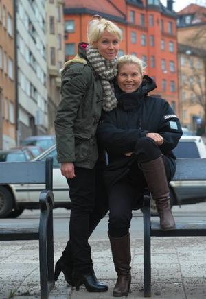 """Lili & Susie tävlar i Melodifestivalen med bidraget """"Show me heaven"""". """"En riktig smällkaramell, med ett stänk av 80-tal"""".Foto: Leif R Jansson/SCANPIX"""