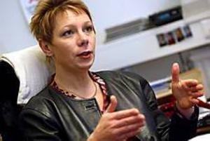 Finanslandstingsrådet Ingrid Liljegrääs meddelade i går att det nu ska bantas även bland landstingets organisation och administration. Foto: NICK BLACKMON