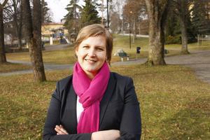 Karin Karlsbro, (L), driver frågan om stadsarkitekt.