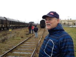 – Fantastiskt roligt, tyckte tågentusiasten Bror Alfredsson, Malung, då tågtrafiken från Malung startade igen.