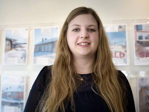 Mäklaren Angelica Jonsson vill att det ska byggas ett seniorboende i Hudiksvall.