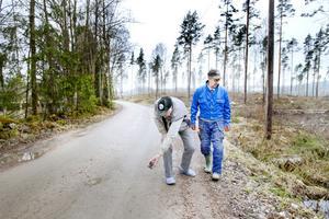 För Broor Sundin och Lennart Jonsson har vägarnas standard varit ett problem länge.