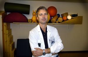 Alf Kågström, skolöverläkare.