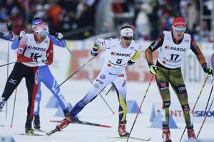 Marcus Hellner blev bäste svenske herråkare i Lahtis på lördagen.
