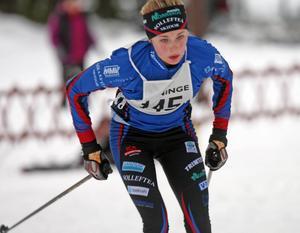 Talangfulla Frida Karlsson, Sollefteå Skidor, vann klassen D 16.
