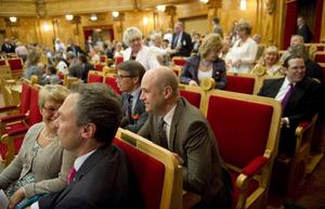 Alliansens riksdagsgrupper sammanträder i andrakammarsalen på riksdagen i Stockholm.Foto:scanpix