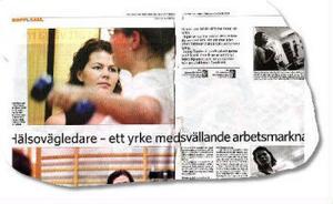 Reportage i ST den 9 oktober 2005