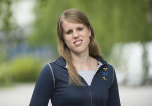 Viktoria Karlsson, längdhopp, en av Sveriges deltagare i Paralympics i Rio 2016.