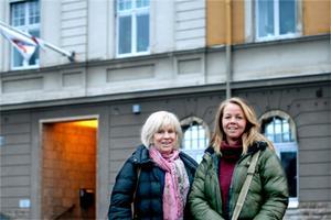 Majlis Telemo och Elin Jensen är Sverigedemokraternas företrädare i Hallsbergs kommunfullmäktige.