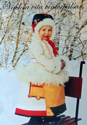 Originalet från 2006, Täpp Lars då tvååriga dotter Kersti fick den första