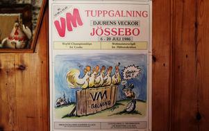 I Jössebo hölls VM i tupp-galning under ett antal år.