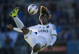 Bangura satte första kassen i matchen mot Kristianstad FC.