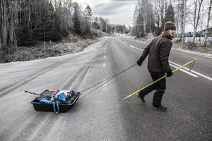 Ismetare på väg. Gäddfiskaren Niklas Söderlind tipsar om blanka nyisarna som ger chans på stor gädda.