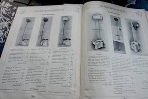 Katalog från förr.
