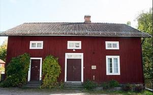 Här ska det planerade museet inrymmas vid Snöå Bruk.FOTO:LEIF OLSSON