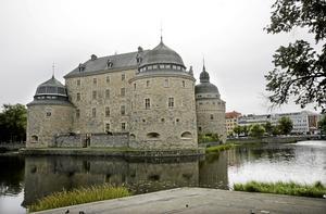 Örebro slott i centrum. Här lanseras ett förslag om en region bestående av Värmland, Örebro, Sörmland och Västmanland.foto: scanpix