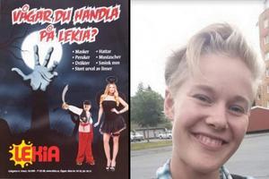 Amanda Eklund anmälda Lekia för vad hon uppfattade som könsdiskriminerande reklam. Reklambilden fälldes.