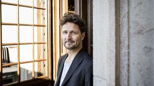 Anders Wendin, alias Moneybrother, är en av de som sjunger under visfestivalen Kontraband. Foto: Christine Olsson / TT