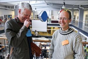 Nigel George och Daniel Roberts reste från England för att studera exemplet Söderhamn.