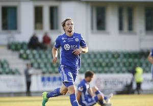 Hallenius gjorde mål för andra matchen i rad.
