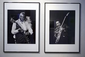 """Blues. I dag är det vernissage för """"Blue shots"""" på Fotomuseet i Sundsvall. Fotografen Erik Lindahl dokumenterade bluesmusiker i USA under 1970- och 80-talen. Foto: Eva-Lena Olsson"""