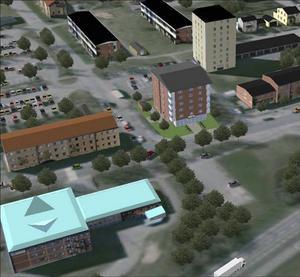Om bygget kräver fler parkeringsplatser i centrum är det enligt Johannes Siirtola, fysisk planerare på kommunen, upp till fastighetsägarna att söka bygglov och anlägga sådana.