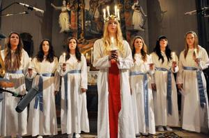 Tove Dahl blev Härjedalens lucia 2012 och det förevigades i den tyska dokumentärfilmen
