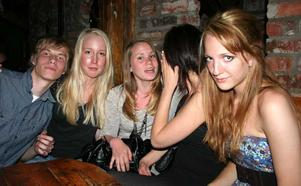 Konrad. Nic, Sandra, Sofia, Lovisa och Linnea