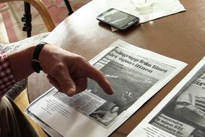 Kjell Eriksson kände ingen som omkom i Estoniakatastrofen men däremot flera anhöriga till personer som dog.