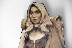 Hon invandrade från östra Finland till Sverige på 1600-talet.