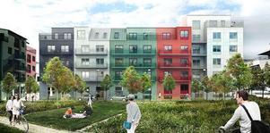 En helt ny stadsdel ska byggas i Inre hamnen.