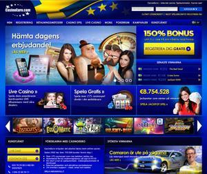 En betydande del av de förskingrade pengarna har gått till spelsajten Casino Euro.