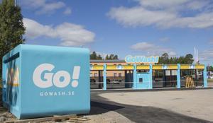 Gowash nya självtvättsanläggning i Söderhamn