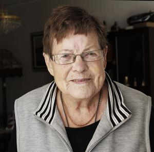 – Det var en olyckshändelse. Jag hamnade i chaufförens döda vinkel, så han såg mig inte, säger Ruth Karlsson.