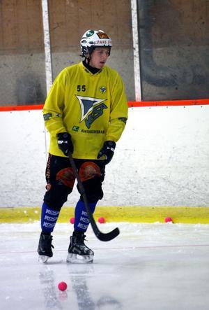 Ted Bergström är tillbaka i gulsvart dress efter ett år i Motala.