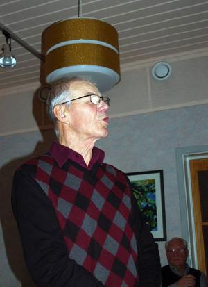 Mr Vindkraft i Härjedalen, Per-Åke Persson, berättade hur Fjällvind AB i Vemhån bedriver verksamheten.