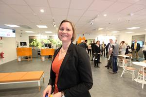 Linda Jonsson är kontorschef på Swedbank i Mora.