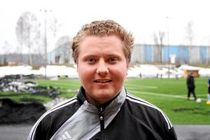 Henrik Alriksson, tränare i Heby AIF. Foto: Mikael Stenkvist
