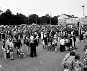 Familjedagen på söndagen lockade många 1972.